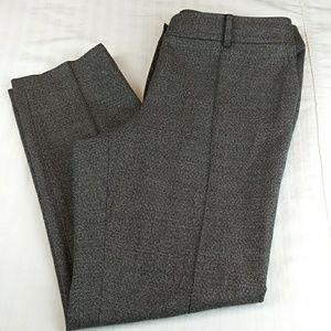 St. John collection Jennifer speckled tweed pants